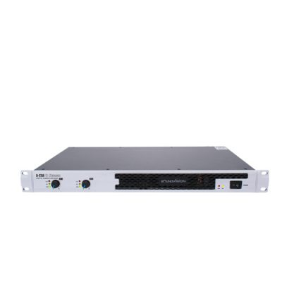 SOUNDVISION D-2350 เครื่องขยายเสียง ระบบดิจิตอล 2 ชาเนล คลาส D 2x350 วัตต์ ที่ 8 โอมห์ SOUNDVISION D 2350 2-Channels Digital Power Amplifier class D 2x350 W