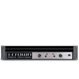 CROWN MA 12000iTwo-channel, 4500W @ 4Ω Power Amplifier CROWN MA 12000i เครื่องขยายเสียง 2 ชาแนล 4500 วัตต์ ที่ 4 โอมห์CROWN MA 12000i Power Amplifier