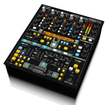 BEHRINGERDDM4000DIGITAL PRO MIXER Ultimate 5-Channel Digital DJ Mixer with Sampler, 4 FX Sections, Dual BPM Counters and MIDI BEHRINGER DDM4000 เครื่องผสมสัญญาณเสียงสำหรับดีเจ 5 ชาแนลBEHRINGER DDM4000 มิกเซอร์ ดีเจBEHRINGER DDM 4000 mixer DJ