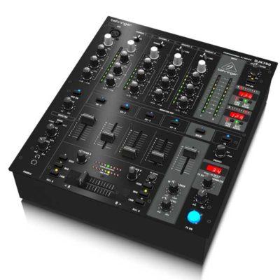 BEHRINGERDJX750PRO MIXER Professional 5-Channel DJ Mixer with Advanced Digital Effects and BPM Counter BEHRINGERDJX750 เครื่องผสมสัญญาณเสียงสำหรับดีเจ 5 ชาแนลBEHRINGER DJX 750 มิกเซอร์ ดีเจBEHRINGER DJX 750 mixer DJ