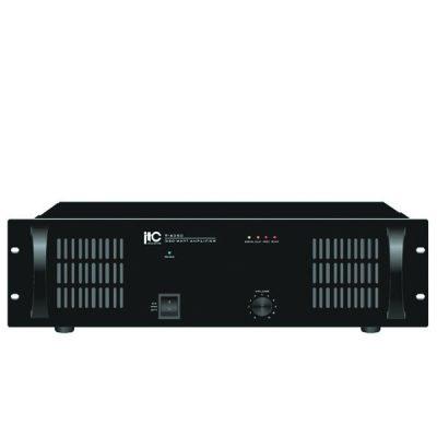 ITC T-6500 600W. Power Amplifier, 70V/100V, 4-16Ω ITC T-6500 เพาเวอร์แอมป์ลายน์ 70V/100V 600WITC T-6500Power Amplifier ของแท้