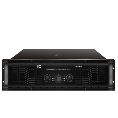ITC TA-2900 Professional Power Amplifier ITC TA-2900 เพาเวอร์แอมป์ 2*900 วัตต์ Stereo 8 โอมห์ ITCTA-2900 Power Amplifier