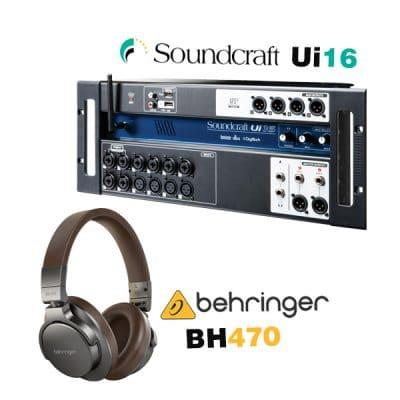 SOUNDCRAFT UI16 ราคาถูก