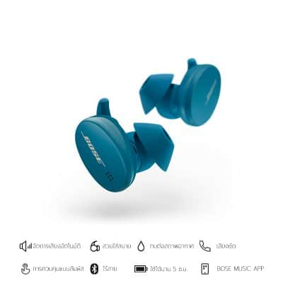 SPORT EARBUDS-Baltic Blue-01